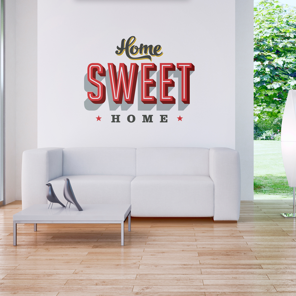 Home Sweet Home Stickers Moonwallstickers Com