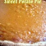 Sweet Potato Pie And My Pie Party!!