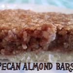 Pecan Almond Bars