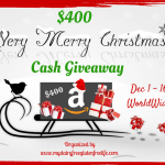 $400 Christmas Cash Giveaway!