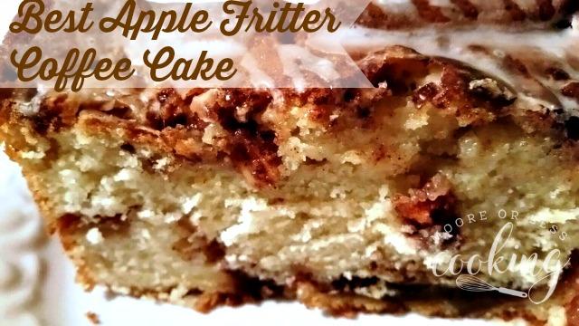 Best Apple Fritter Coffee Cake
