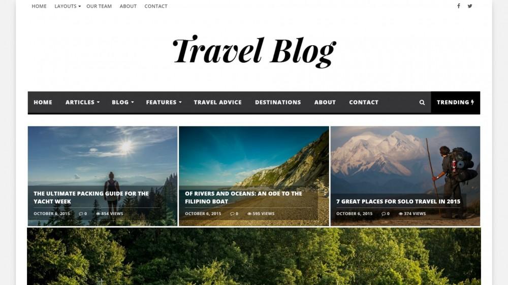 30+ Best Wordpress Travel Themes for Travel Blogs And Magazines - wordpress travel themes
