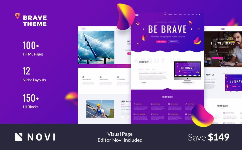 25 Most Popular Parallax Scrolling Website Themes