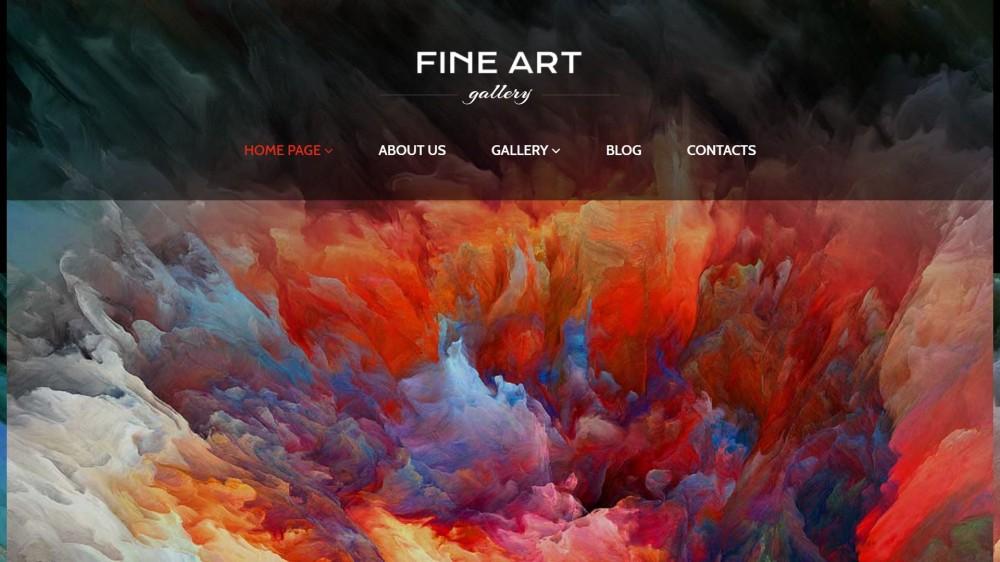 20+ Artistic and Elegant Art Gallery  Museum WordPress Themes