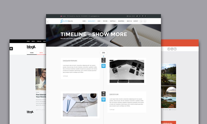 25+ Best WordPress Timeline Themes