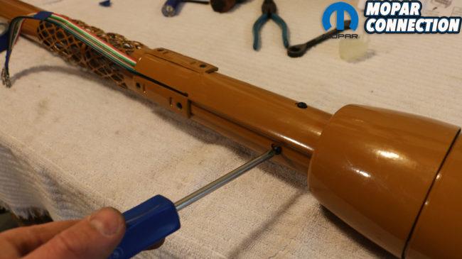 Switched On Mopar Steering Column Restoration  Turn Signal Switch