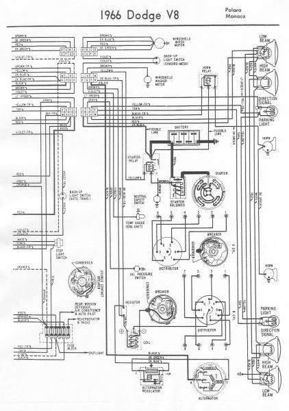 1966 Dodge Monaco Ignition Wiring - Mopar Forums
