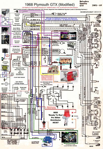 1967 Plymouth Wiring Diagram - Wiring Diagrams