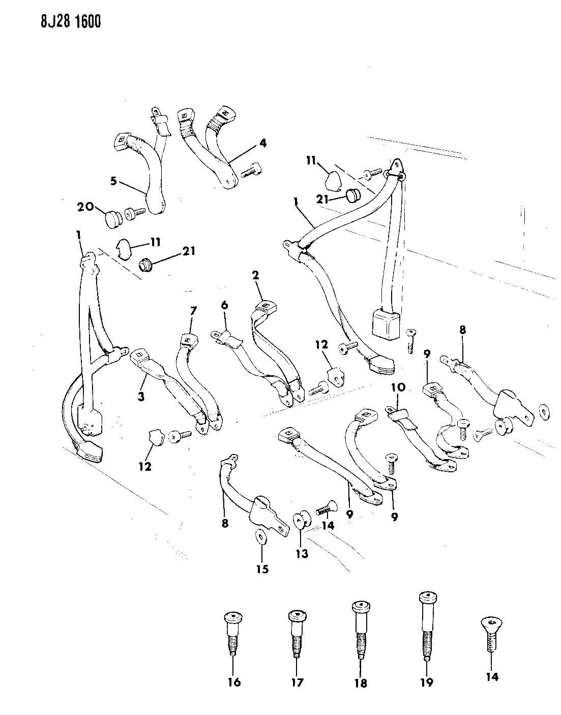 87 comanche wiring diagram