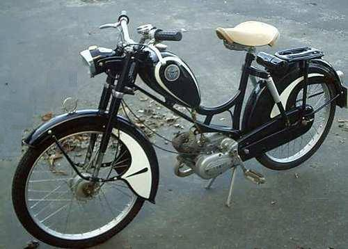 Gebraucht Motorroller 1957 Miele K50s | Moped Photos — Moped Army