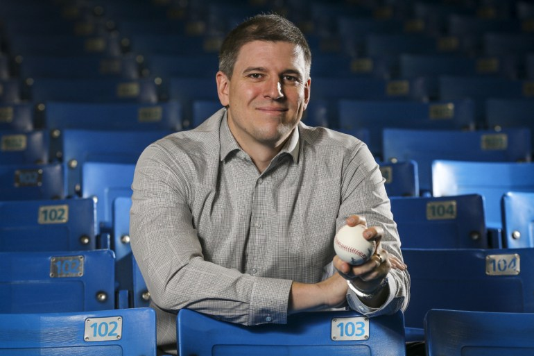 Blue Jays' assistant GM Andrew Tinnish