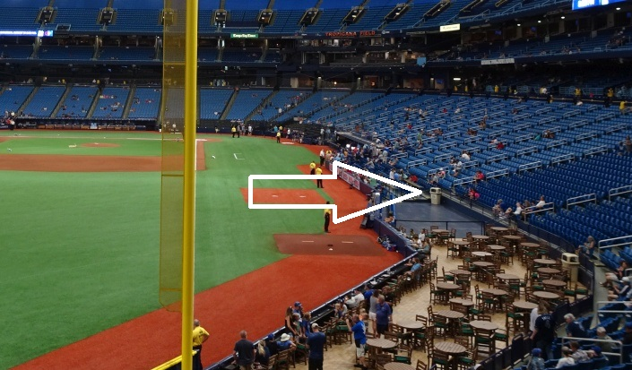Tropicana Field Seating