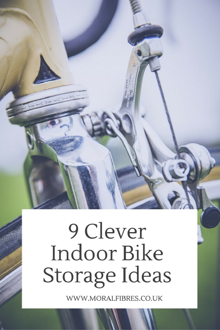 Lying On The Sofa Clever Indoor Bike Storage Ideas | Moral Fibres - Uk Eco