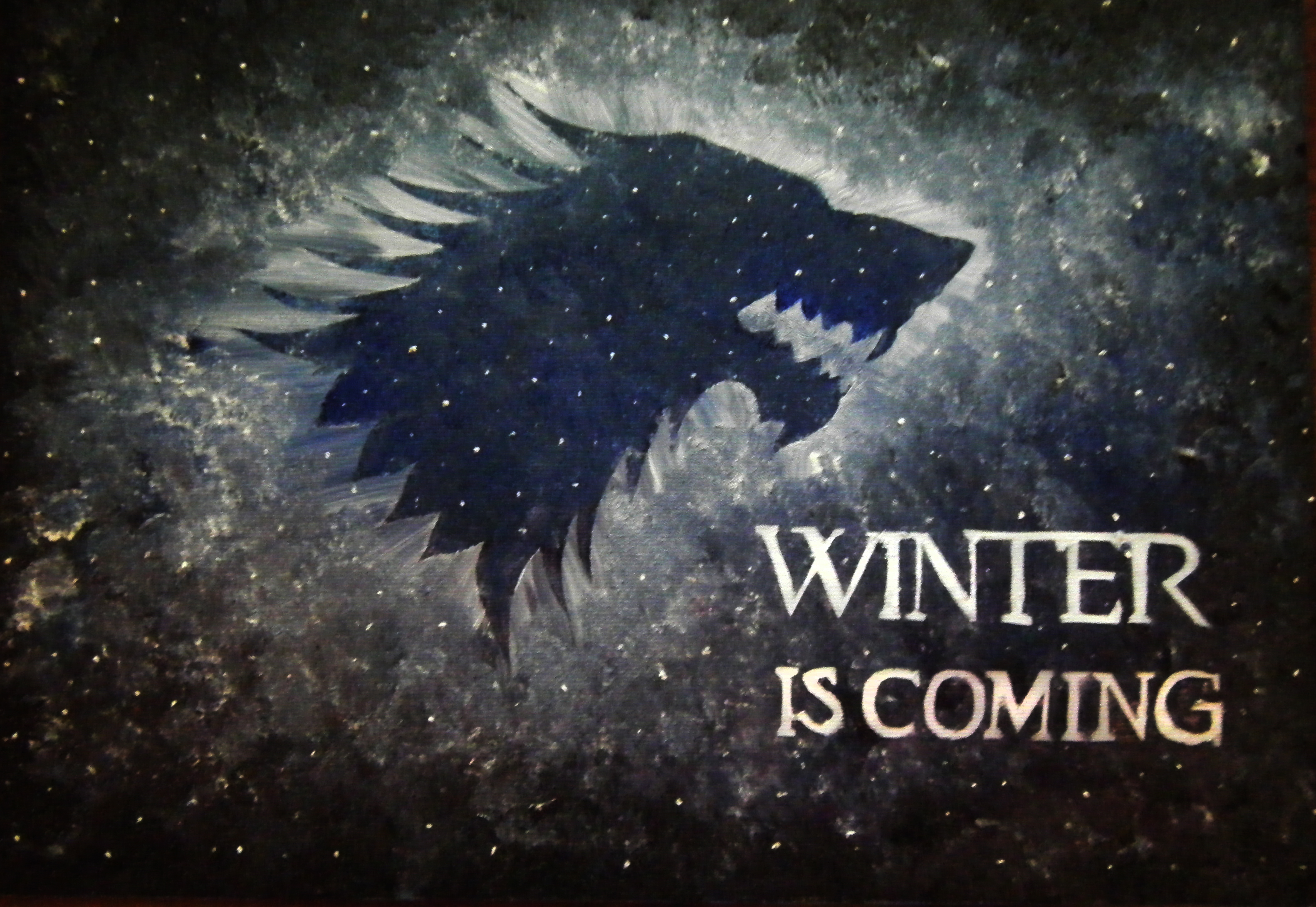 Dont Touch My Laptop Hd Wallpaper Winter Is Coming And House Mcghee Dislikes Snow A Few