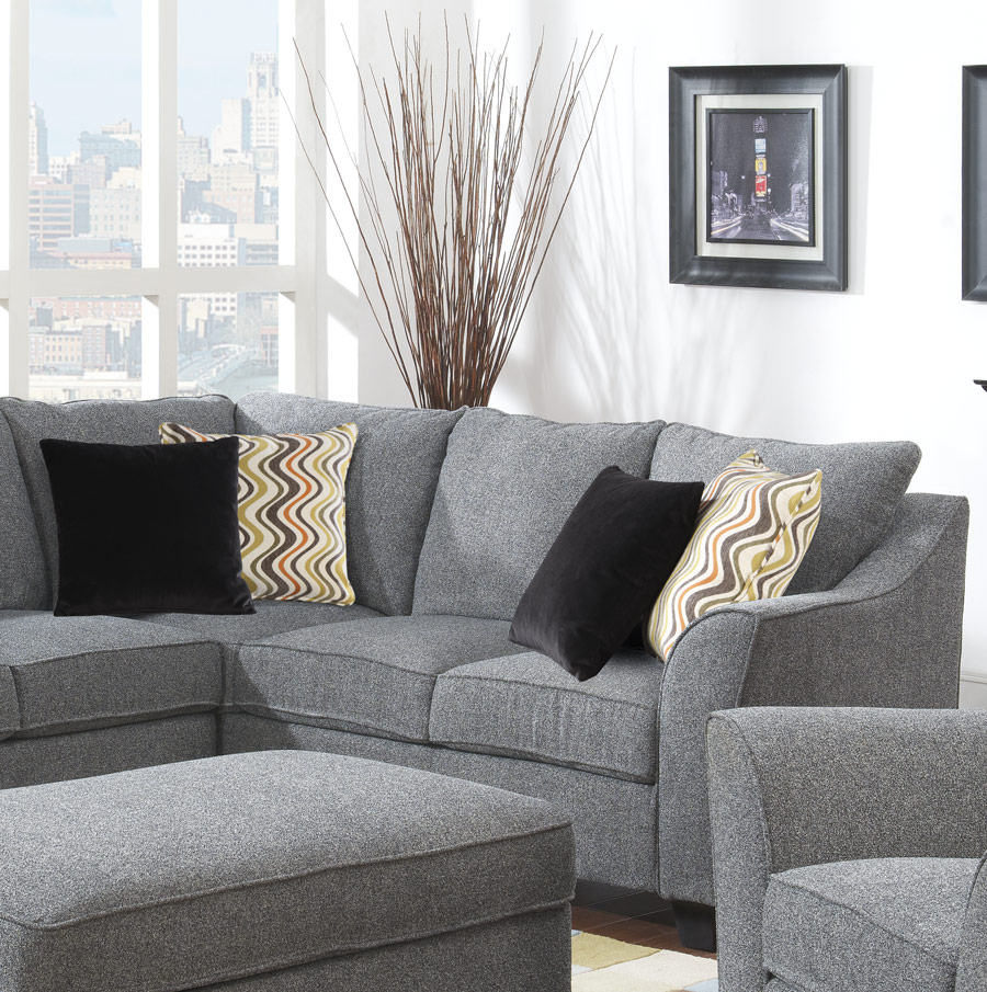 Sofa 8 Way Hand Tied Springs Calvina Sectional - More Decor