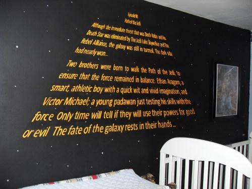 Medium Of Star Wars Bedroom