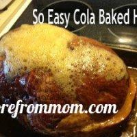 PopPop's Cola Baked Ham