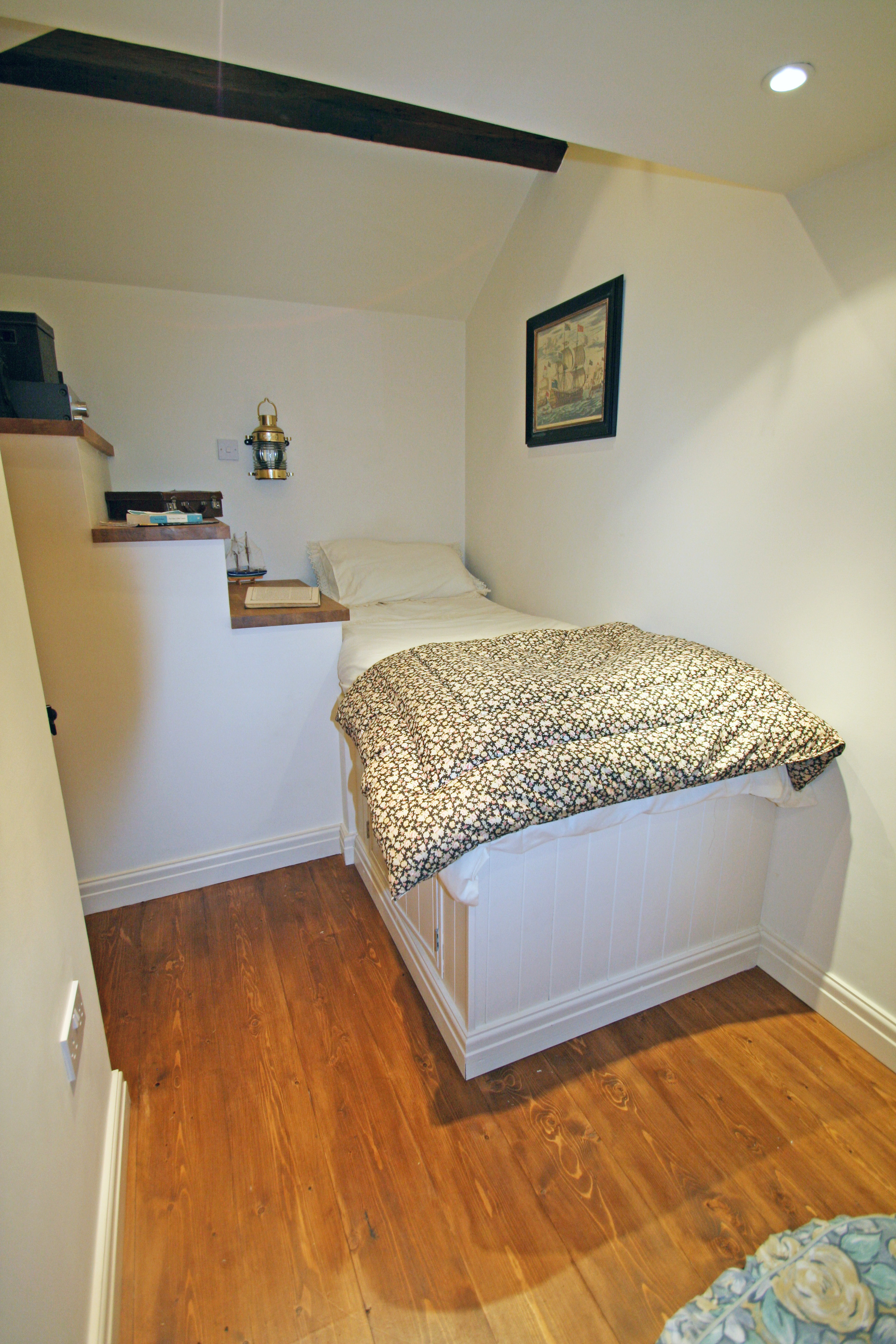 Small Beds For Box Rooms How To Create A Small Space Bed Deck Over Stairs The