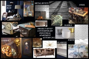 Interior Design Project Boards