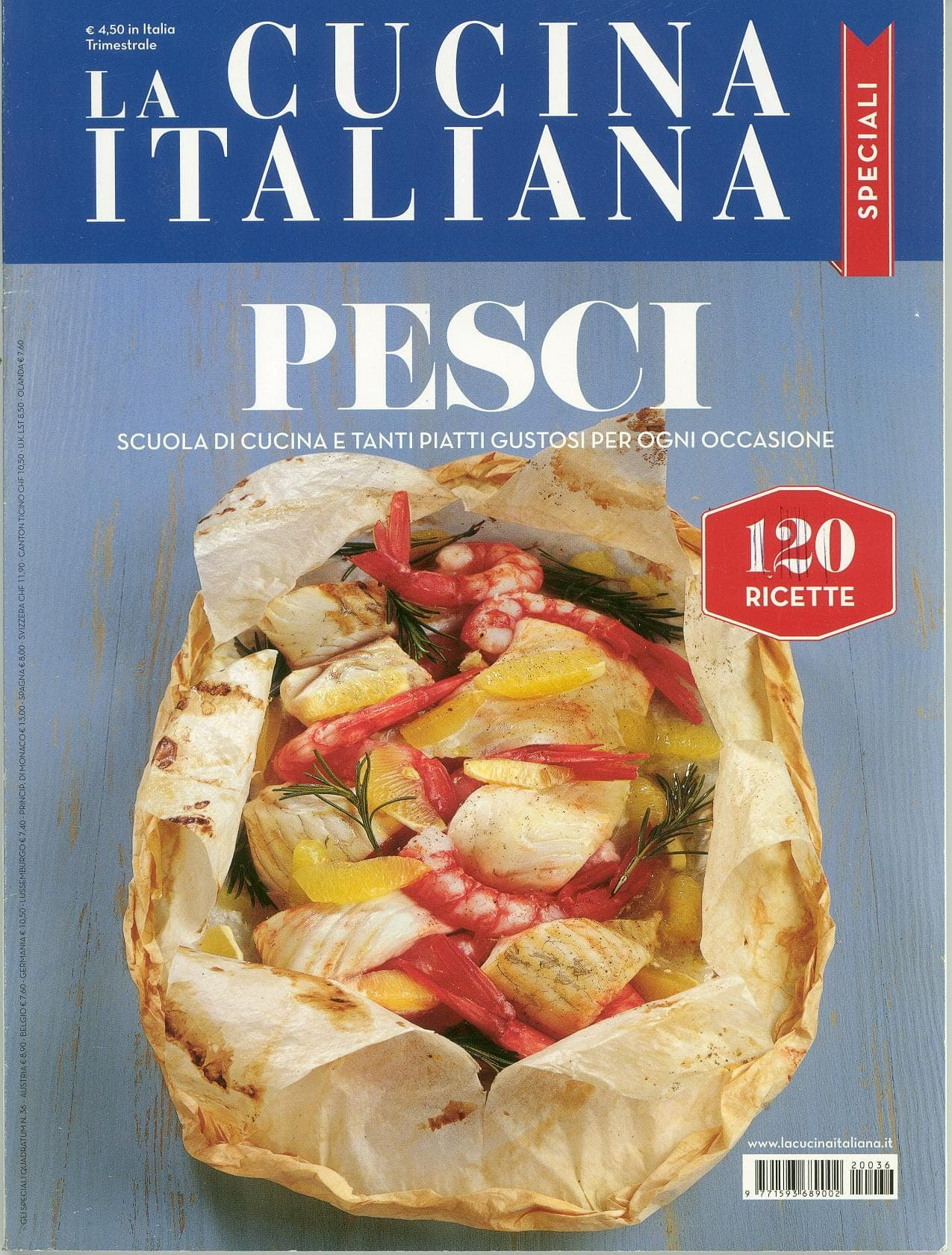 The Magazine Of La Cucina Italiana June 2012 Italian Cooking Moreno Cedroni