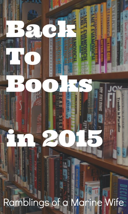 Post july back to books appeared first on ramblings of a marine wife