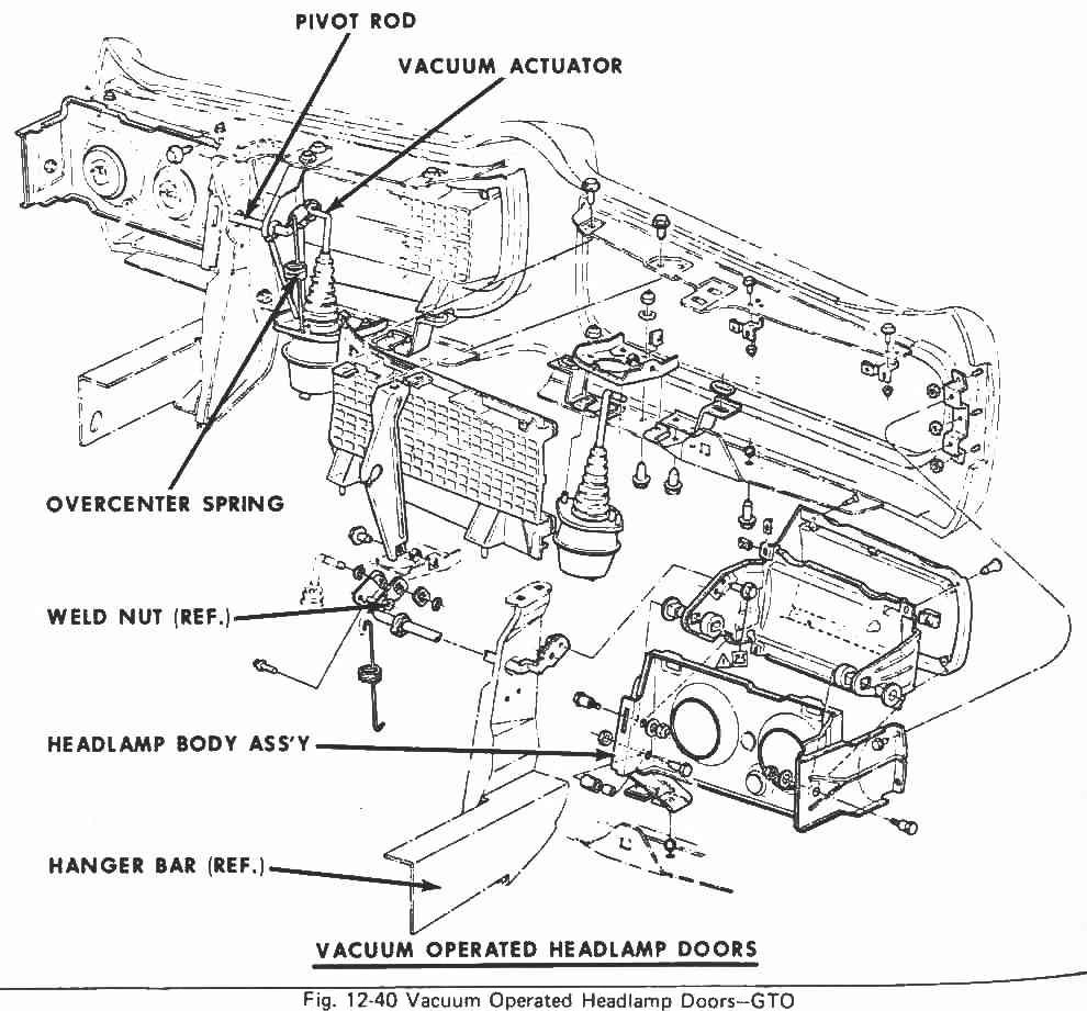 1968 pontiac firebird wiring diagram reprint