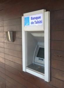 Banque de Tahiti Atm