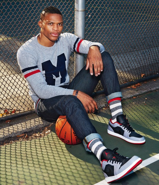 NBA Russell Westbrook GQ France November 2013 1 Looking good in different types of clothing