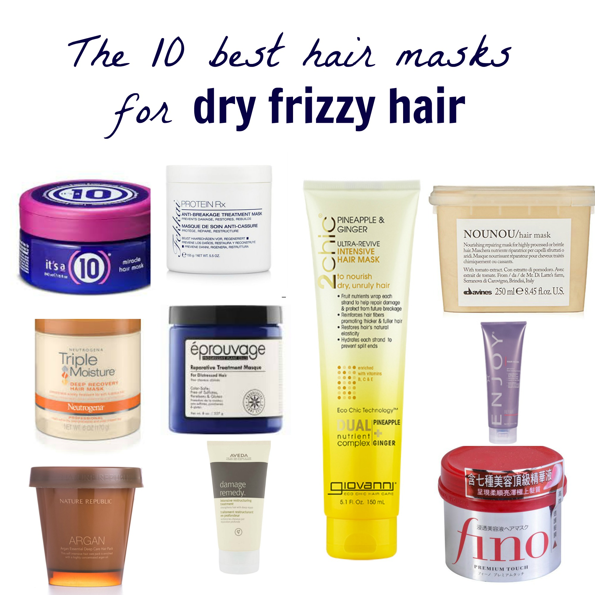 The 10 Best Hair Masks For Dry Frizzy Hair More Than A Fashion Blog