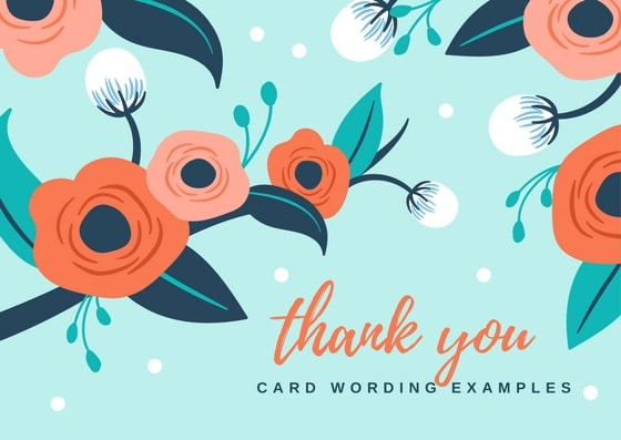 THANK YOU NOTE WORDING FOR ALL OCCASIONS - Thank You Note