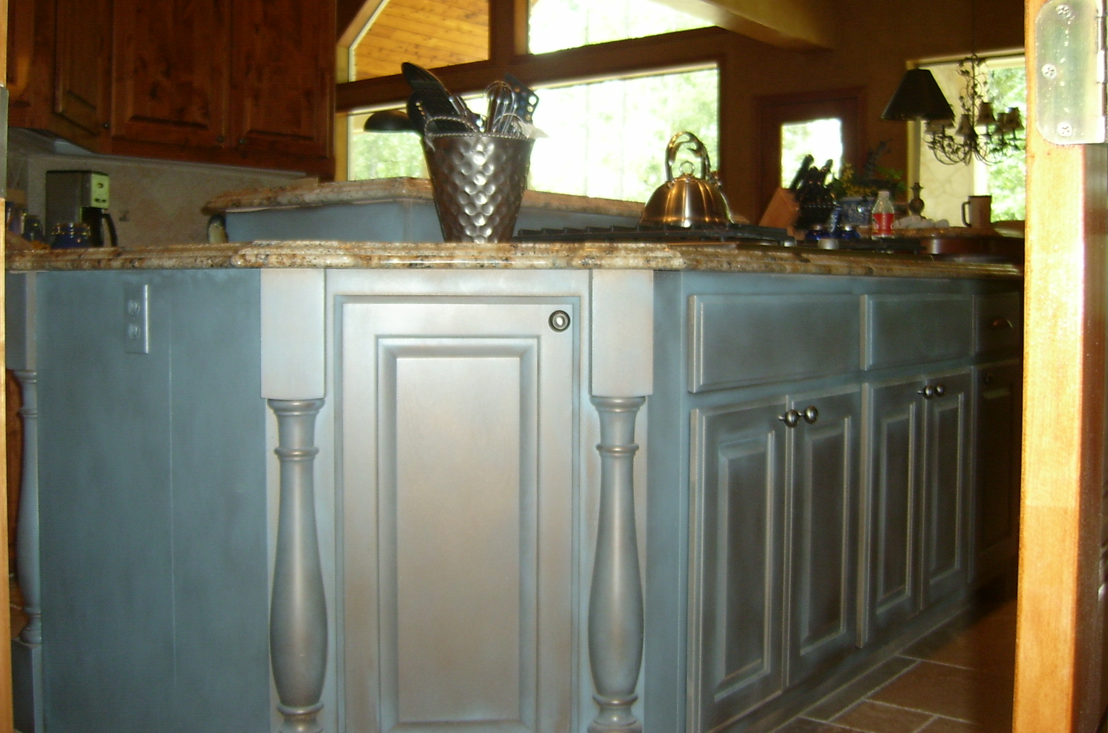 Custom Kitchen Cabinets Houston Custom Hand Painted Kitchen Cabinets Houston 832 257 9285