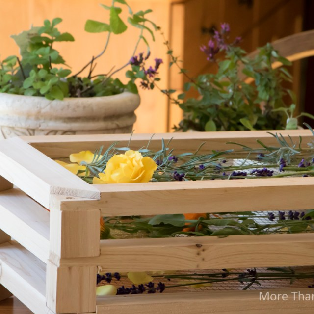 Keeping It Simple: Stackable Drying Herb Rack