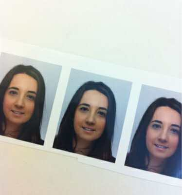 Alice's Passport photo