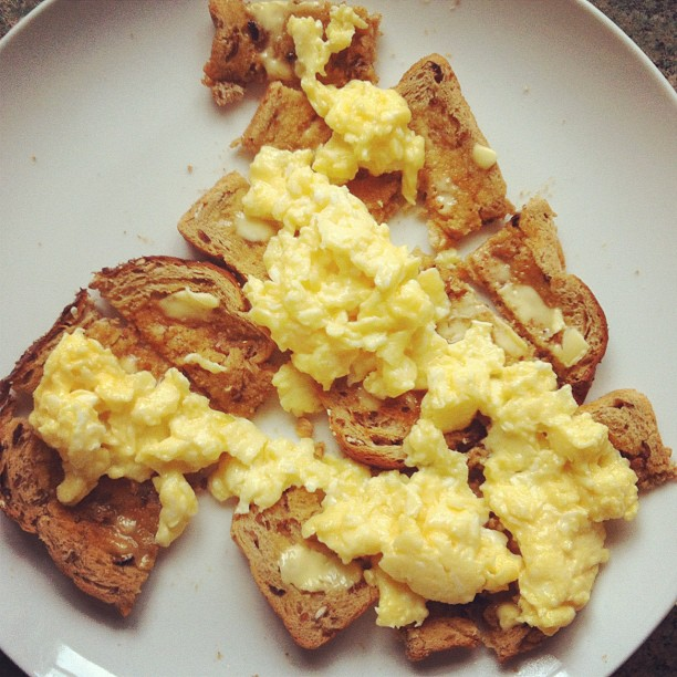 Scrambled Egg on Toast | More Than Toast
