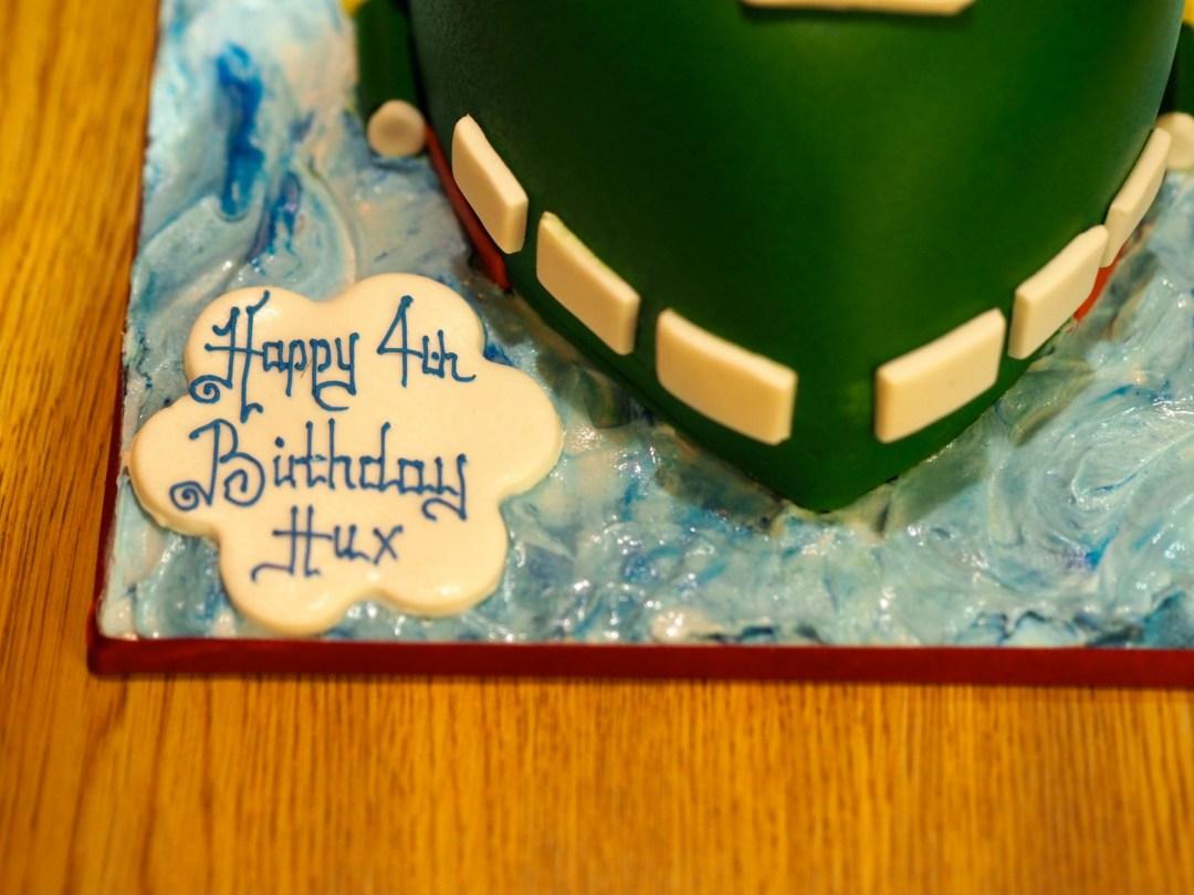Thunderbirds 2 birthday cake