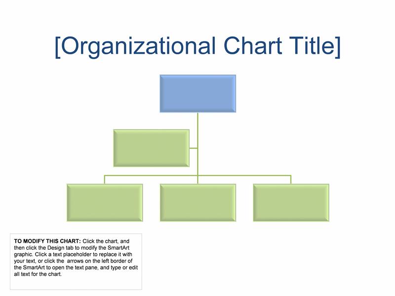 microsoft office organizational chart templates