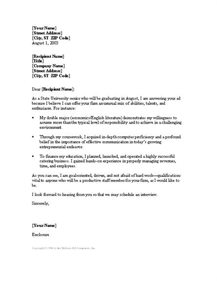 Sample Of Cover Letter Customer Service Representative Entry Level