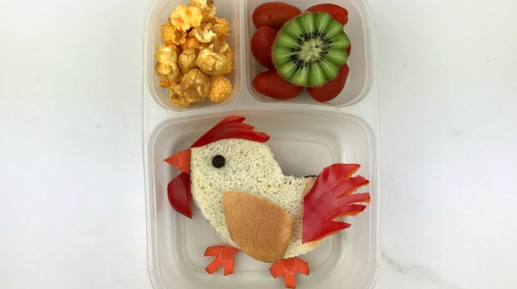 Chinese New Year Rooster Bento Lunch!