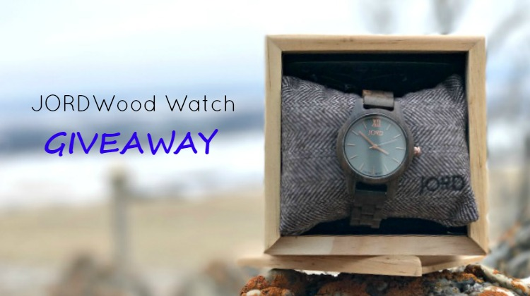 The Gift of Time : Jord Wood Watch Giveaway