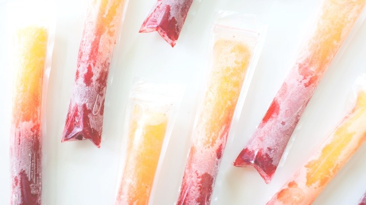 Raspberry Peach Pops + Sparkling Ice Giveaway!