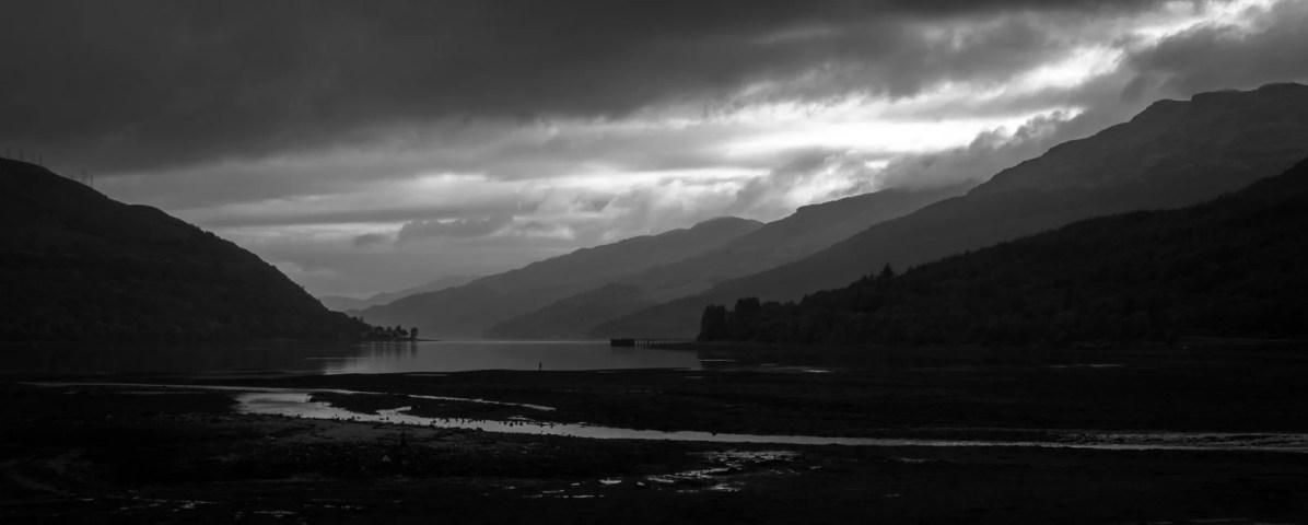 Fin de journée sur le Loch Long