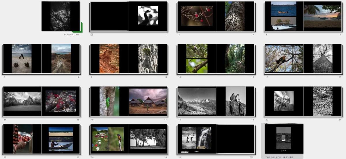 Livre de photographies Madagascar 2013