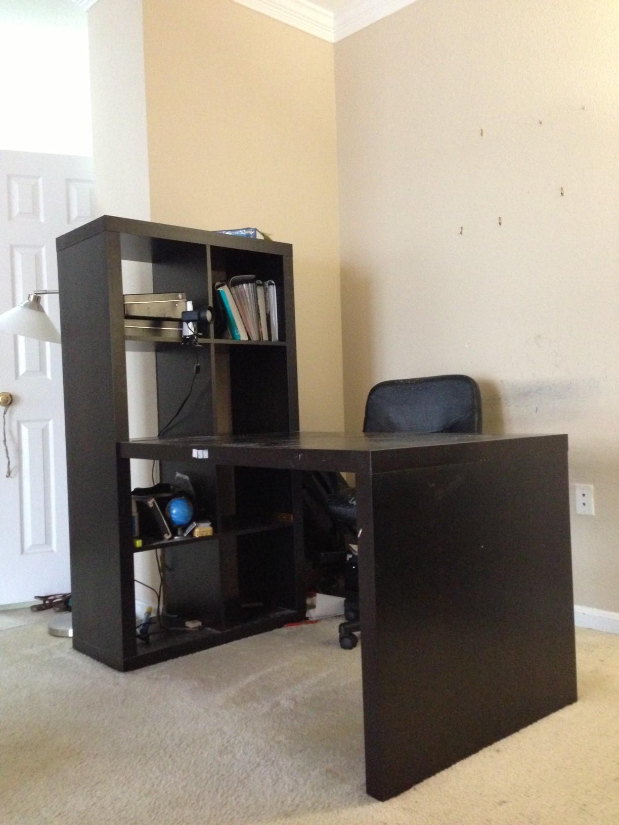 Ikea Expedit Bookshelf 4 X 2 40 50 With Desk E