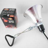 Small Animal Heat Lamp, 75 Watt Infrared Bulb Included ...