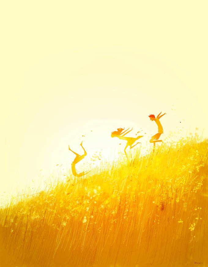 Free Falling, by Pascal Campion