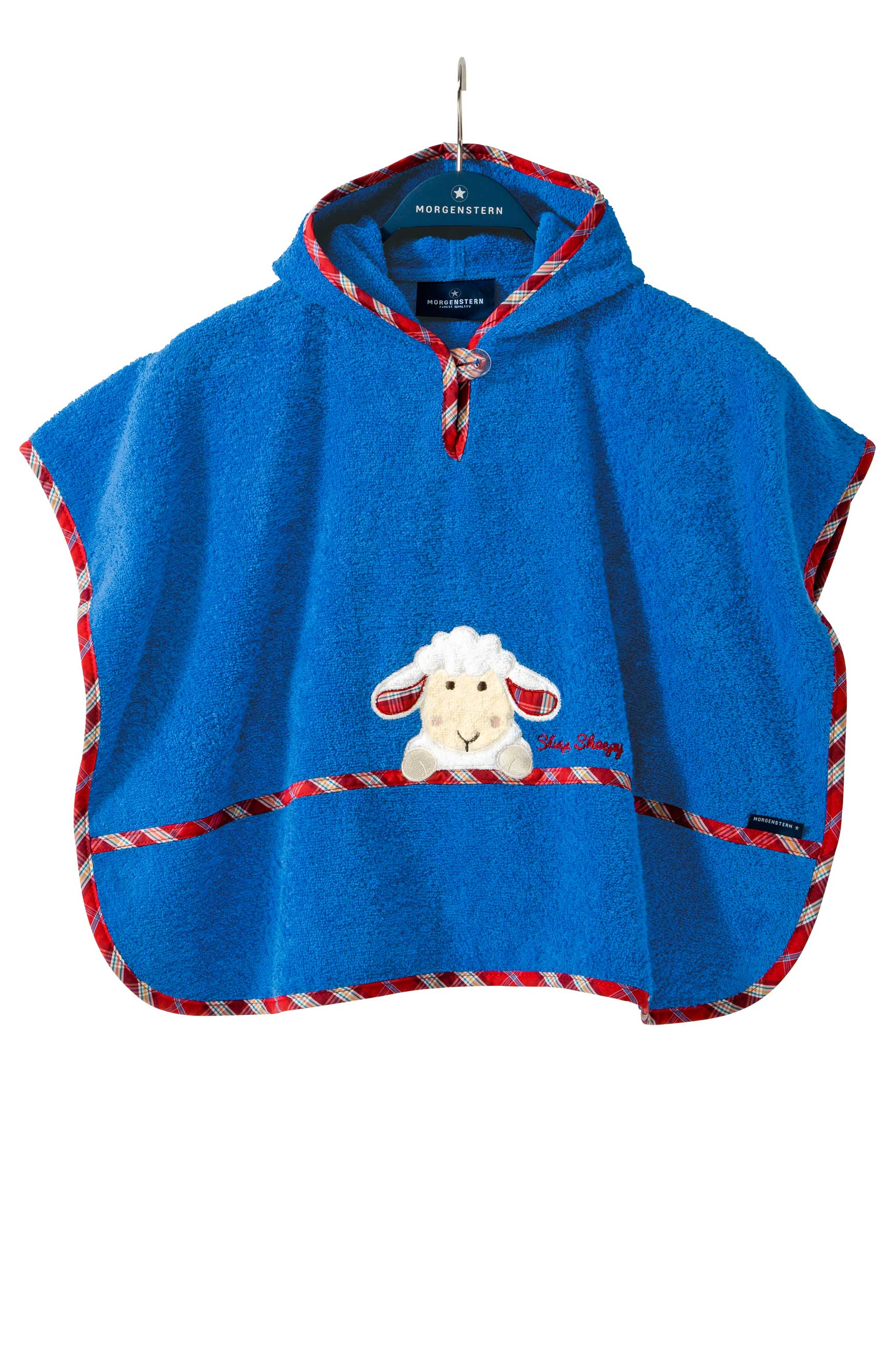 Baby Badeponcho Badeponcho Baby Baumwolle Blau Morgenstern