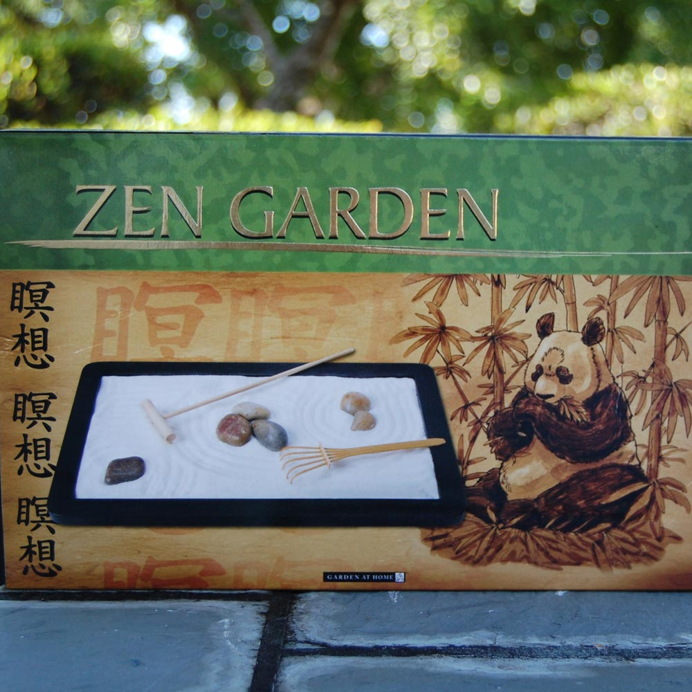 Table Top Zen Garden Tabletop Zen Garden