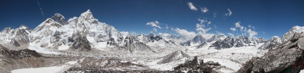 Nepal Himalaja Panorama