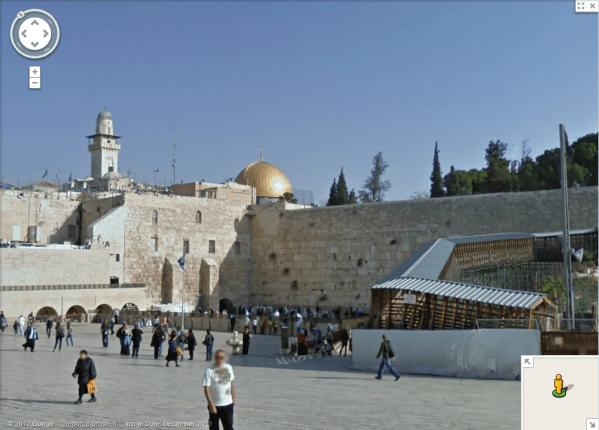 Explore Old Jerusalem On Google Maps Street View Mormon