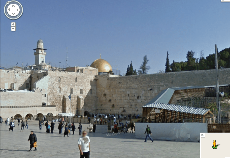 Explore Old Jerusalem on Google Maps Sreet View